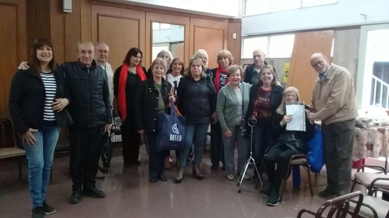 Se realizó el 1er encuentro de jubilad@s judiciales de Mendoza