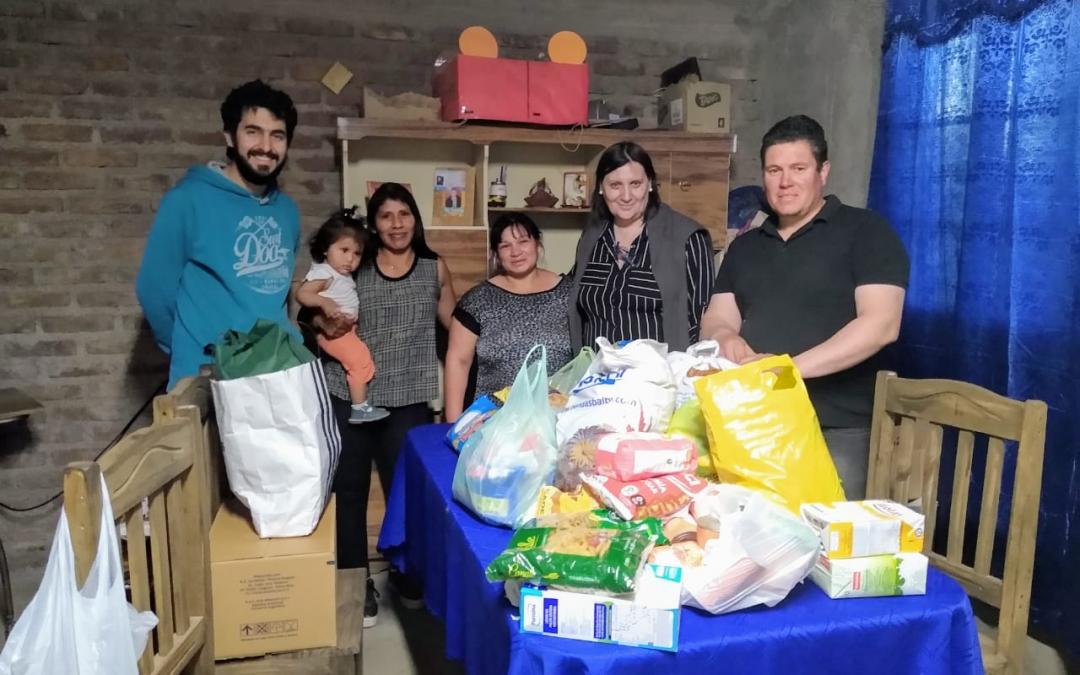 SE ENTREGARON DONACIONES AL MERENDERO «UN SOL PARA LOS CHICOS»