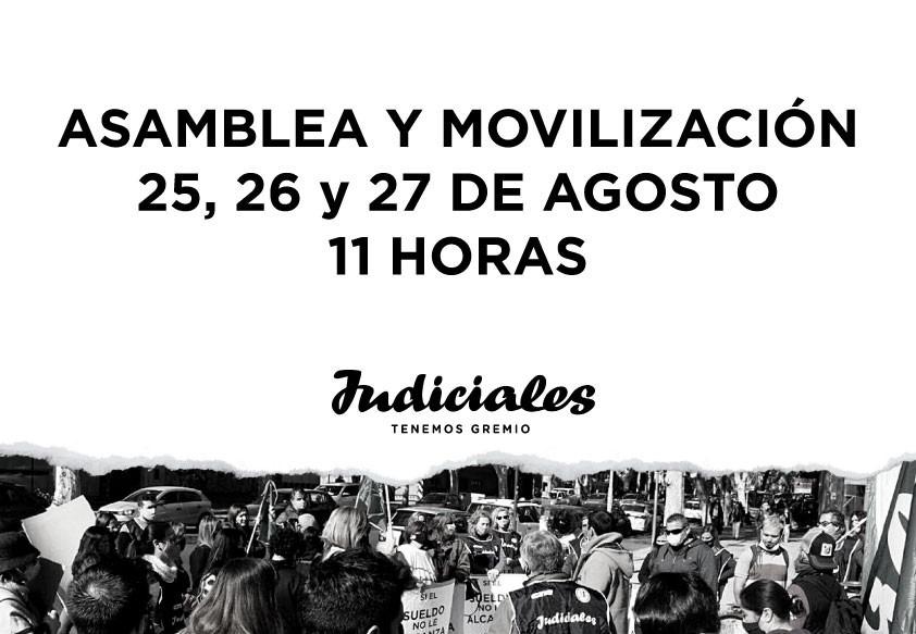 ASAMBLEAS Y MOVILIZACIÓN EN LAS CUATRO CIRCUNSCRIPCIONES